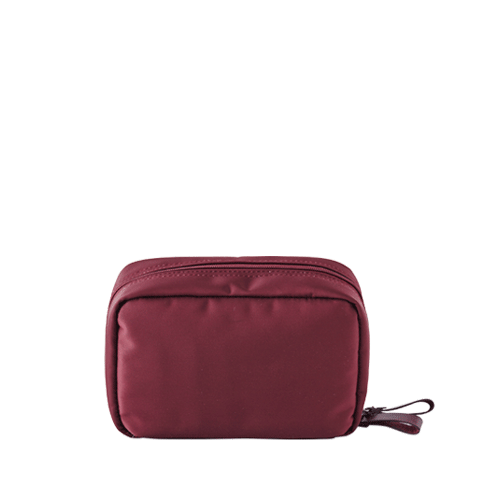 DAY MAKE-UP POUCH (Burgundy)