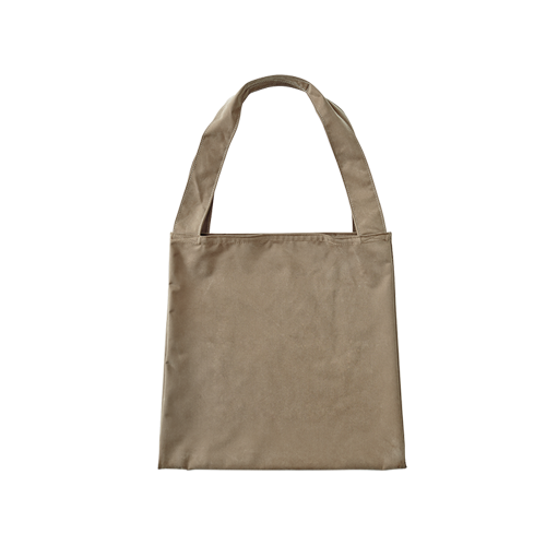 TWIN BAG _ ASH (Camel)