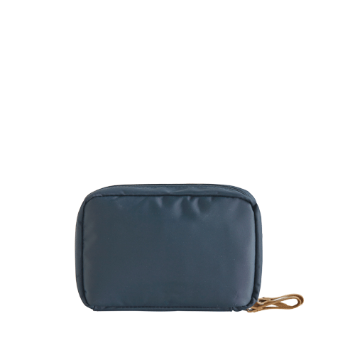 DAY MAKE-UP POUCH _ SPRING (Navy)