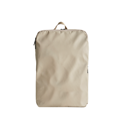 HEN SLIM BACKPACK  (Beige)