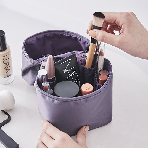 VERTICAL MAKE-UP BOX (Lavender)