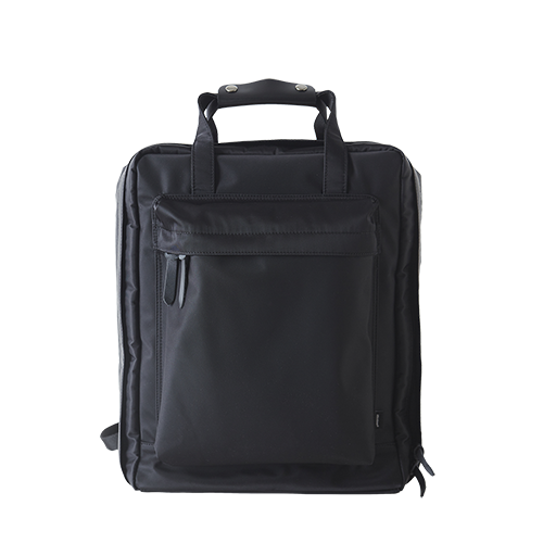 OVERNIGHT BACKPACK _ BASIC (Black)