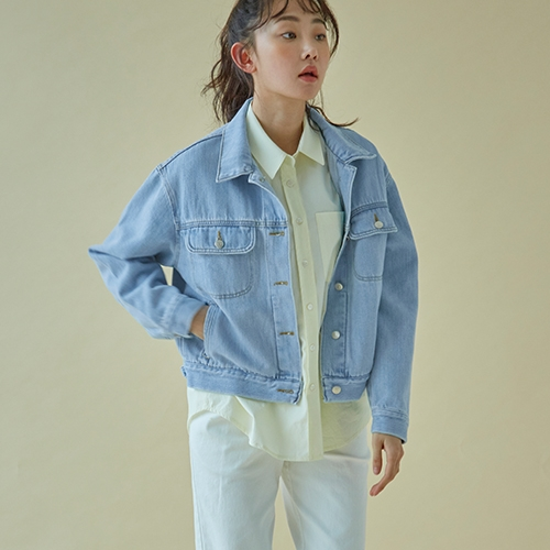 LIGHT DENIM OUTER (L/Blue)