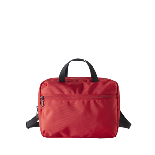 DOUBLE POUCH BAG (Red)