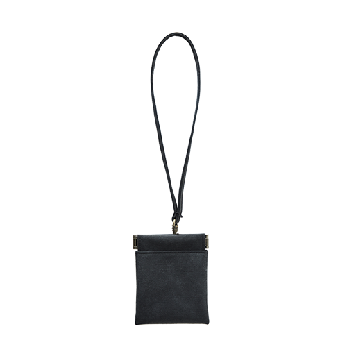 BAG TAG POUCH (Black)