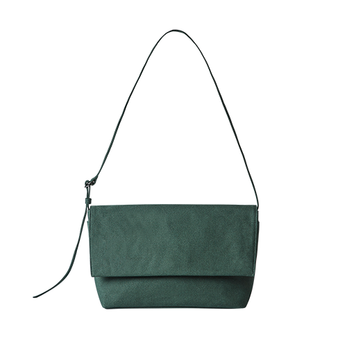 CANVAS FLAP BAG (Green)