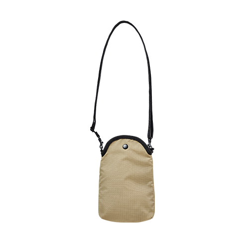 MOBILE POUCH X BAG (Beige)