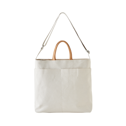 CANVAS 2WAY BAG(Natural)