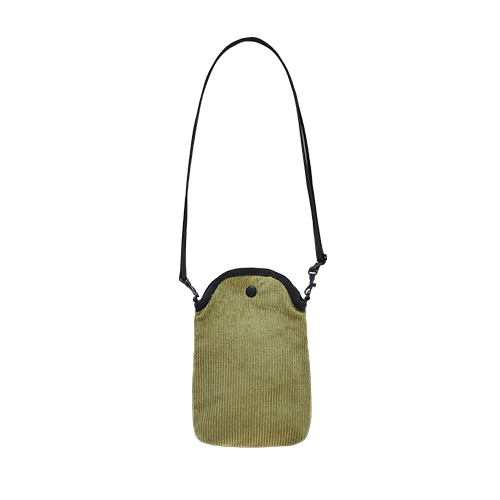 MOBILE POUCH X BAG _CORDUROY (Olive Green)