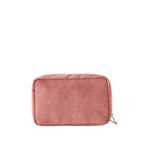 DAY MAKE-UP POUCH _ CORDUROY (Pink)