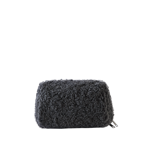 BELL MAKE-UP POUCH _ BOA (Charcoal)