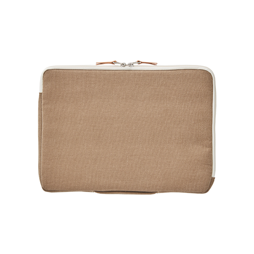 PEACH LAPTOP POUCH (15) (Taupe)